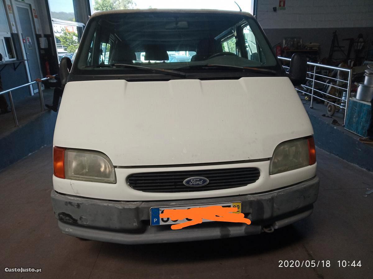 Ford Transit Drive Junho 99 A Venda Comerciais Van Braga Custojusto Pt