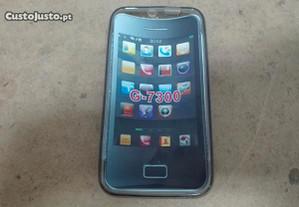 Capa em Silicone Huawei G7300 Opaca - Nova