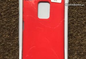 Capa silicone soft touch Xiaomi Redmi Note 9 Pro