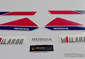 Honda Wallaroo stickers autocolantes