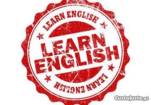 Explicações de Inglês (bom preço)