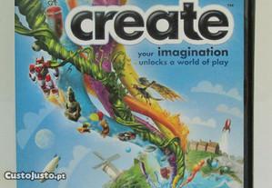 Jogo PC Create (selo Igac / como novo)