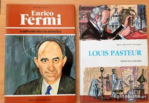 Enrico Fermi e Louis Pasteur, Col. Biográfica