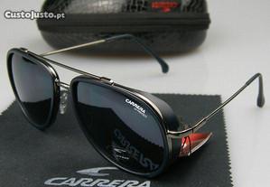 Óculos de sol Carrera estilo 166/S azul mate