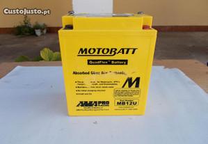 Bateria em GEL para motos 12v semi nova