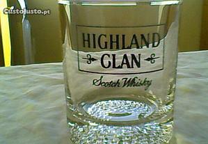 7 Copos de Uísque / Whisky 'Highland Clan' (NOVOS)