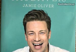 Livro Receitas Saudáveis de Jamie Oliver