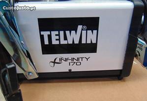 Aparelho de soldar Inverter Telwin Infinity 170 de