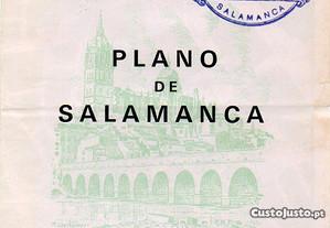 Salamanca - planta desdobrável (1968)