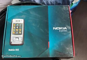 Nokia E-65 como novo