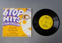 Disco vinil single - 6 Top Hits From England