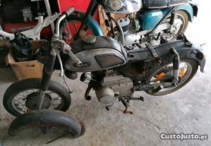 Yamaha 125cc A 7 para peças