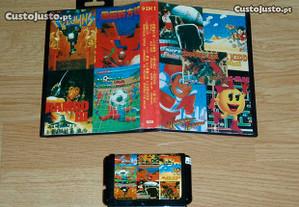 Mega Drive: 9in1-Alex Kidd; Columns; Pac-Man,etc..