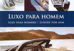 Livro Luxo para Homem