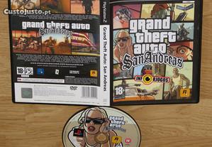 Playstation 2: GTA San Andreas