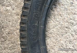 Par de pneus motorizada 21x2.75