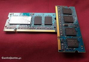 Memórias SO-DIMMs