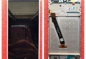 Ecrã original com frame Huawei P Smart (Com Peças)
