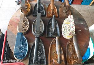 Ferros de engomar antigos vintage
