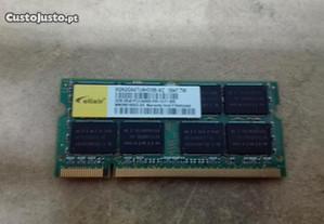 Memórias ram DDR2 PC2-6400 para portátil 2GB