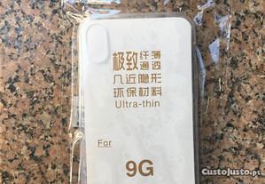Capa de silicone ultra-fina para iPhone XS - Novo