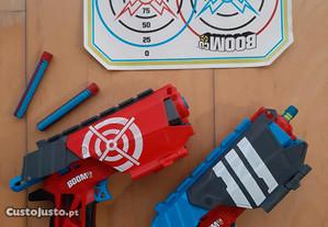 Pistolas BoomCo + Alvo