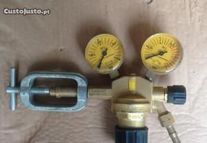 Redutor manómetros acetileno