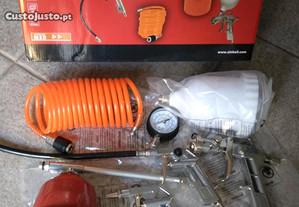 Kit conjunto de 5 peças para compressor, EINHELL