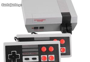 Consola com 620 jogos (Incluí 2 comandos)