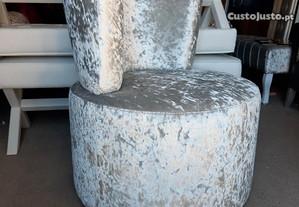 Cadeirao redondo fixo
