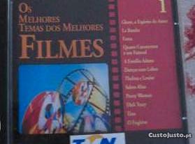CD Vários Artistas - Bandas Sonoras