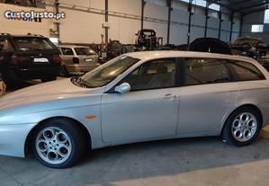 Alfa Romeo 156 Sportwagon 1.9 JTD 2000 para peças