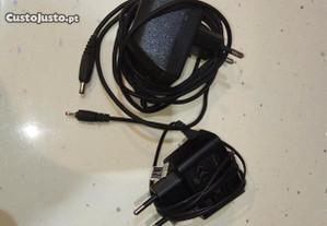 Carregador via USB, carregadores telemóveis