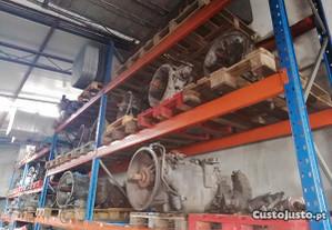 Motor e caixa de velocidades pesado de mercadoria