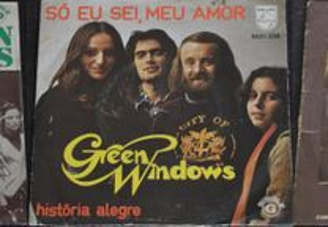 Green Windows 3 Singles / Vinil