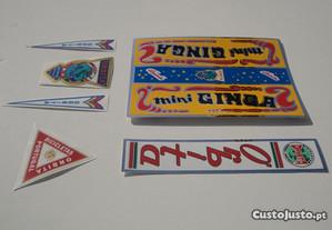 Orbita Mini Ginga Autocolantes emblemas stickers