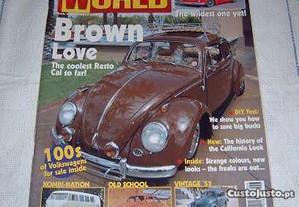 Volks World maio 2003 carocha/beetle, combis