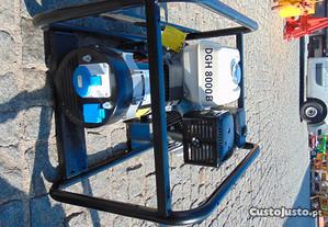 Gerador HONDA 8KWA, com motor GX390 monofásico com