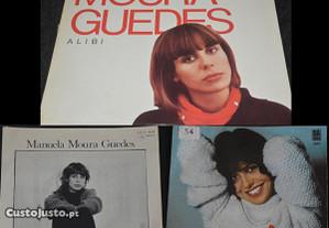 Manuela Moura Guedes 1 LP + 2 Singles (Vinil)