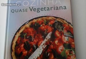 Livro Cozinha Quase Vegetariana Josceline Dimbleby