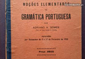 Noções Elementares de Gramática Portuguesa (1935)