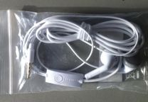 auriculares novos Samsung últimos modelos
