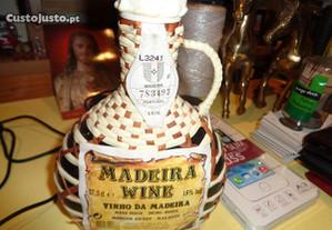 Garrafão Miniatura 18cm altura vinho da MADEIRA
