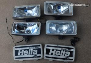 Farol auxiliar projector hella comet 550