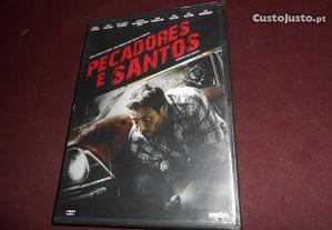 DVD-Pecadores e Santos