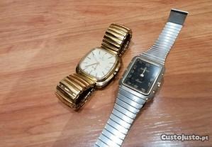 2 relógios novos cauny e silgar