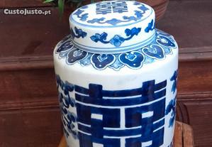 Pote de porcelana chinesa