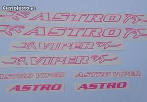 Astro Viper autocolantes bicicleta