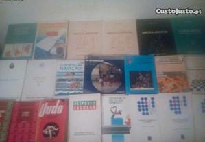 Conjunto de Livros de Desporto