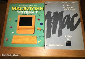 Intro ao macintosh sistema 7 + livro do macintosh